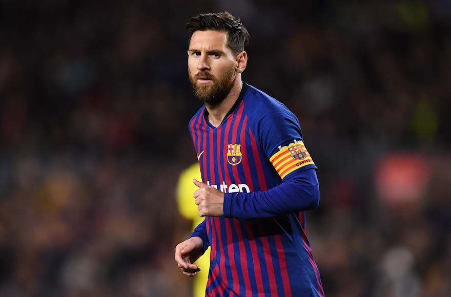 Lionel Messi is kind of connected to a controversial Israeli soccer team - Jewish Telegraphic Agency
