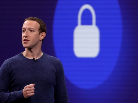 Facebook CEO Mark Zuckerberg speaks during the F8 Facebook Developers confrence
