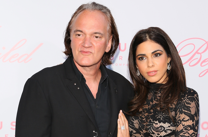 Quentin Tarantino and Israeli singer Daniela Pick marry under a huppah