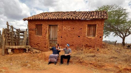 Rabbi Gilberto Venturas and his wife