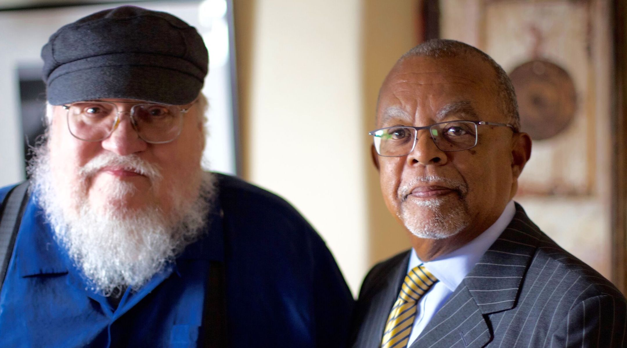 54009c82fb8  Game of Thrones  creator George R.R. Martin discovers he s nearly a  quarter Jewish on  Finding Your Roots