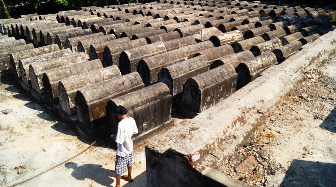Myanmar cemetery