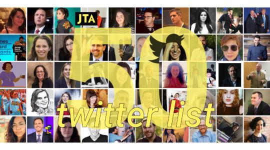 50 Jews to follow on Twitter