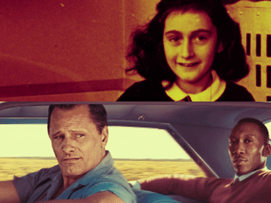 green book and anne frank