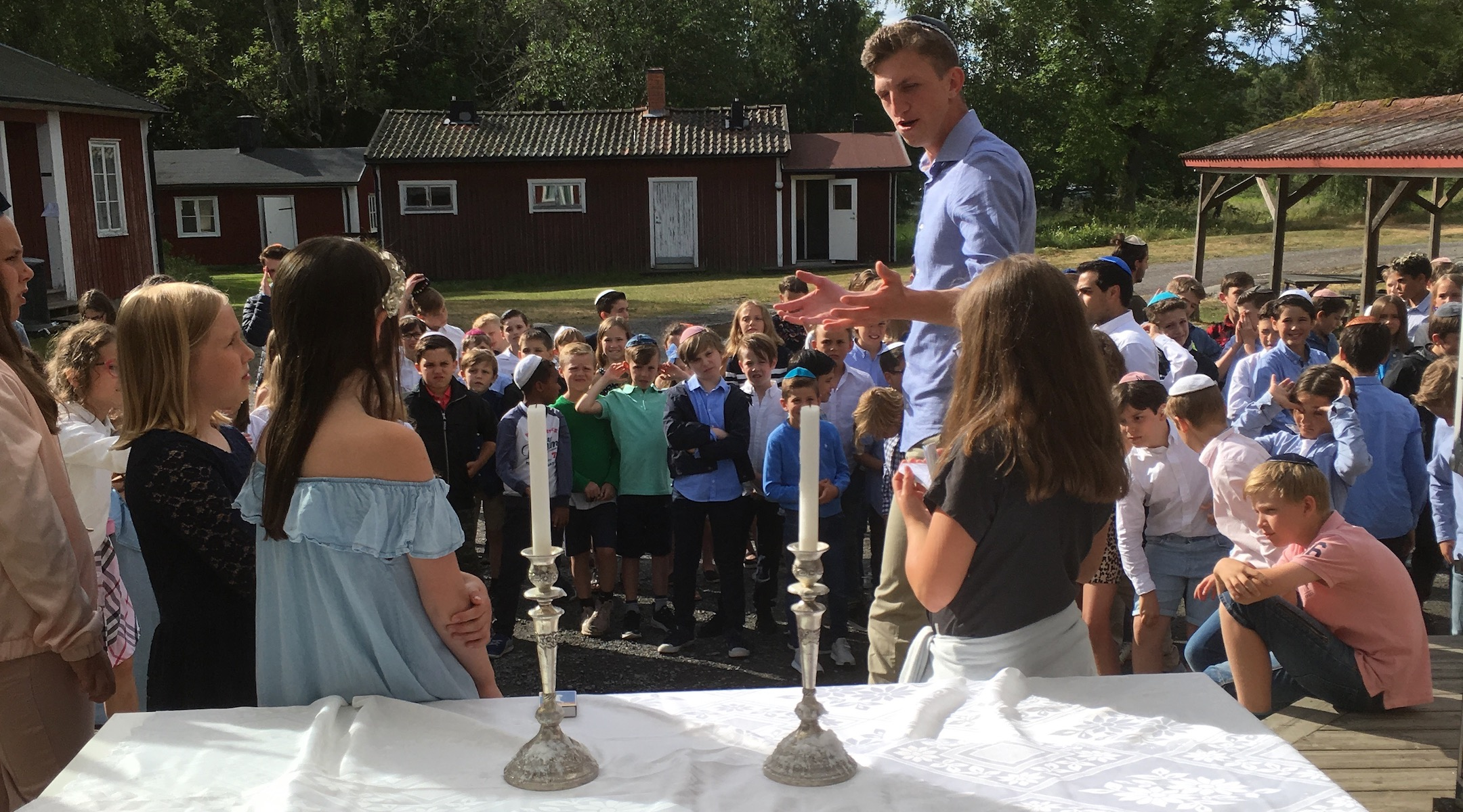 What it's like to go to Sweden's only Jewish overnight summer camp