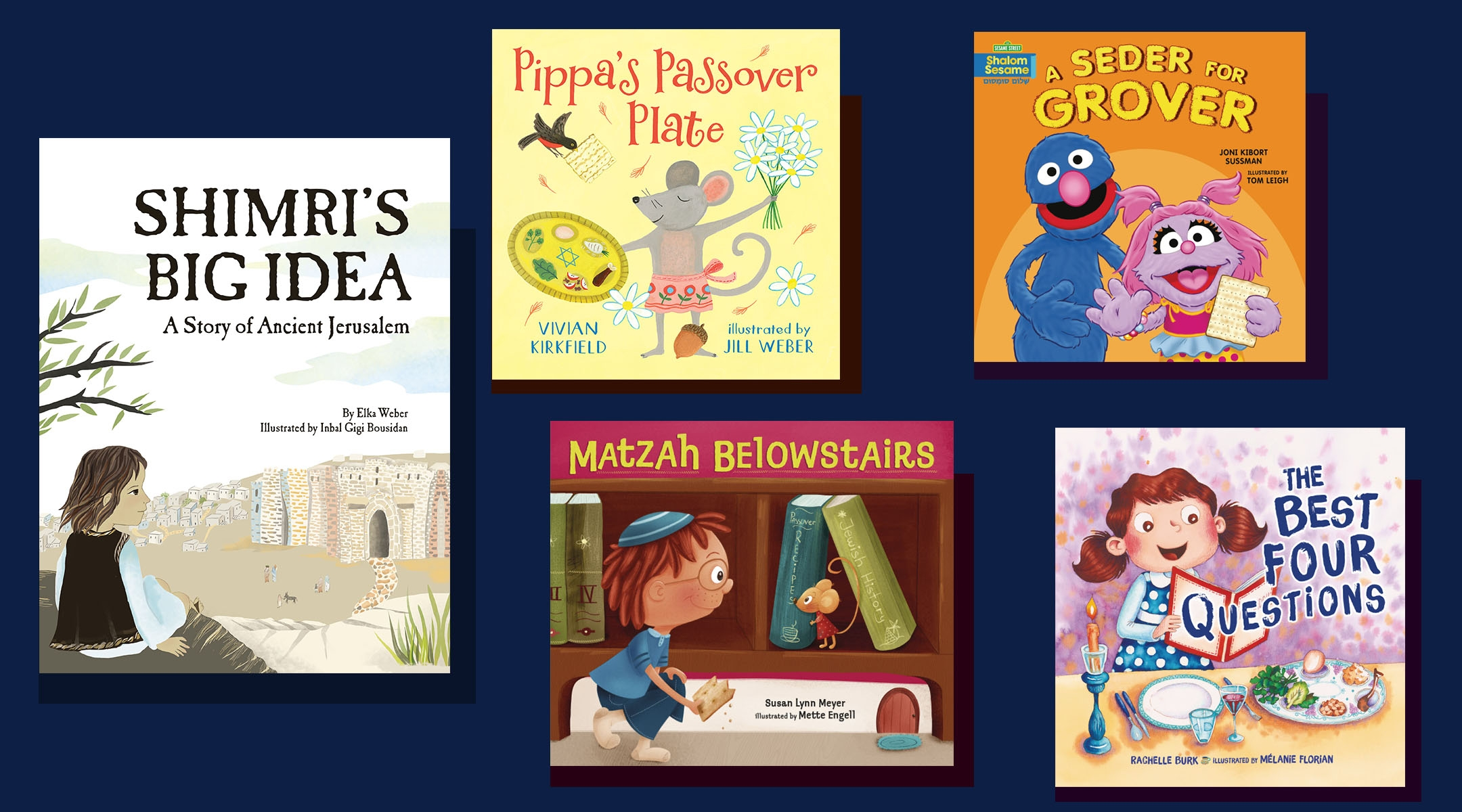 A 'Sesame Street' seder and 4 other new children's books for