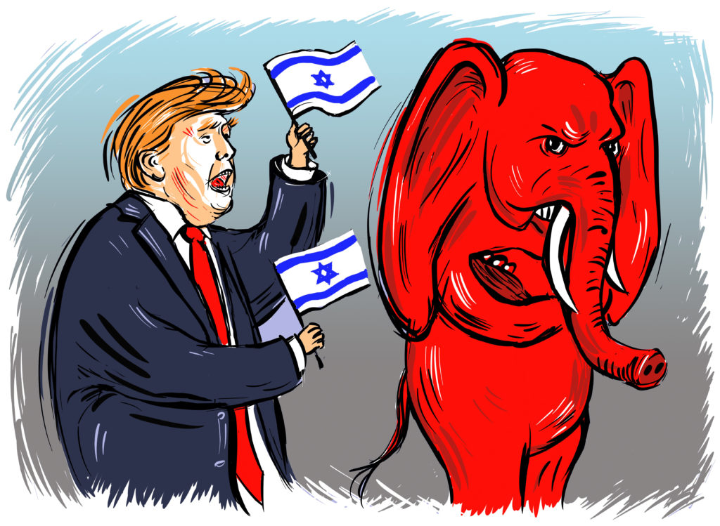 The Republican Party has an Israel problem