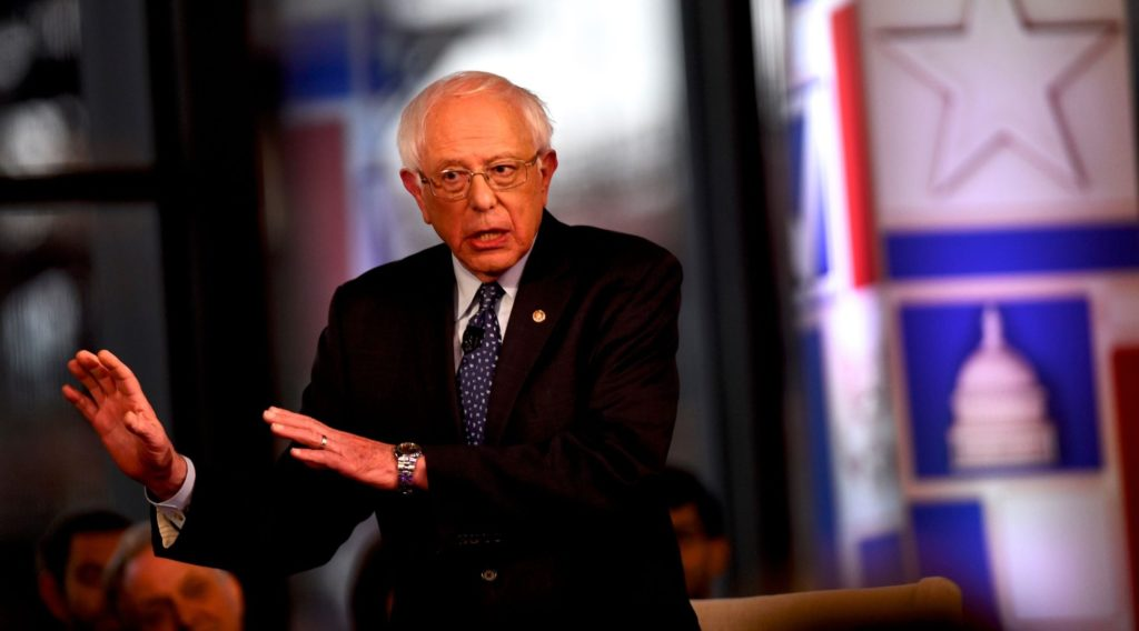 Bernie Sanders says he is '100% pro-Israel,' but blasts its 'racist' government