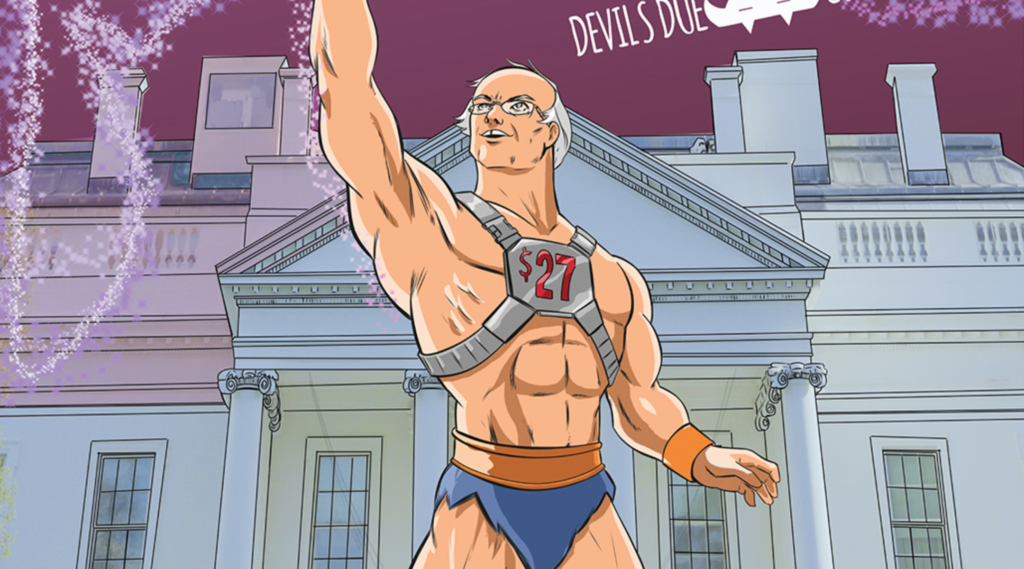 Bernie Sanders Gets The Buff Comic Book Hero Treatment Jewish Telegraphic Agency Person » josh blaylock is credited in 138 issues. bernie sanders gets the buff comic book