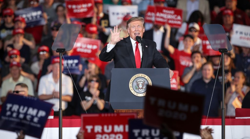 Survey shows continued strong Jewish disapproval of Trump, heightened concerns on anti-Semitism