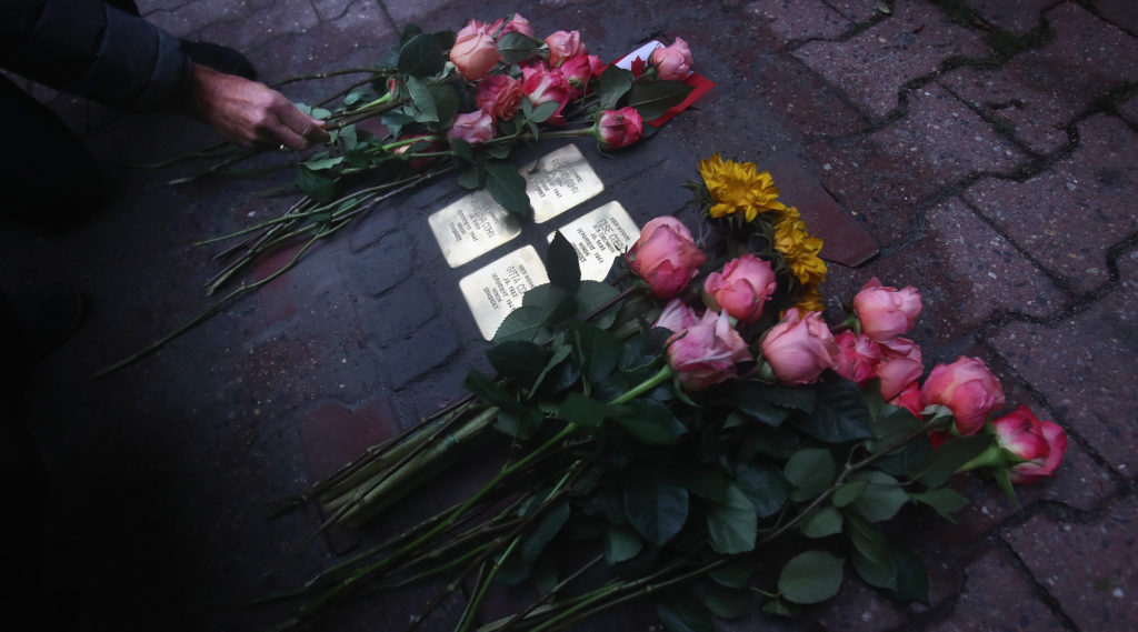 Sweden will soon get its first Holocaust memorial 'stumbling stones'