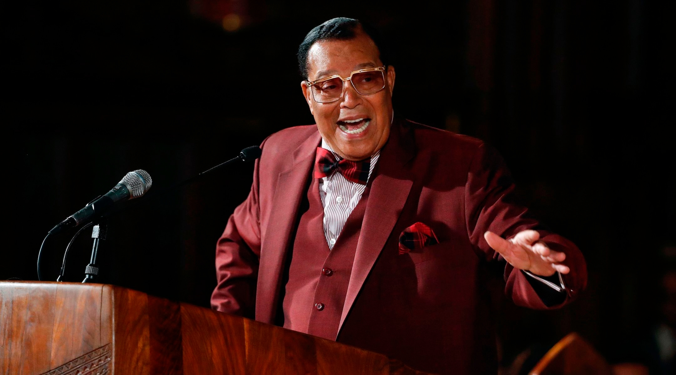 In 3-hour Fourth of July speech, Nation of Islam leader Louis Farrakhan rebuts charges of...