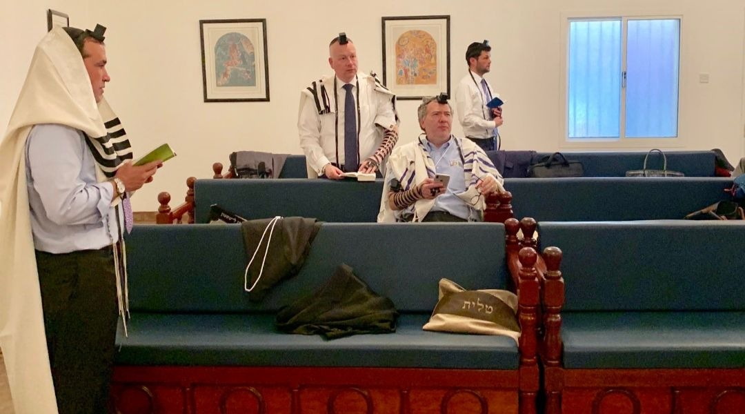 Jared Kushner's peace conference brings a minyan to 19th-century Bahrain synagogue