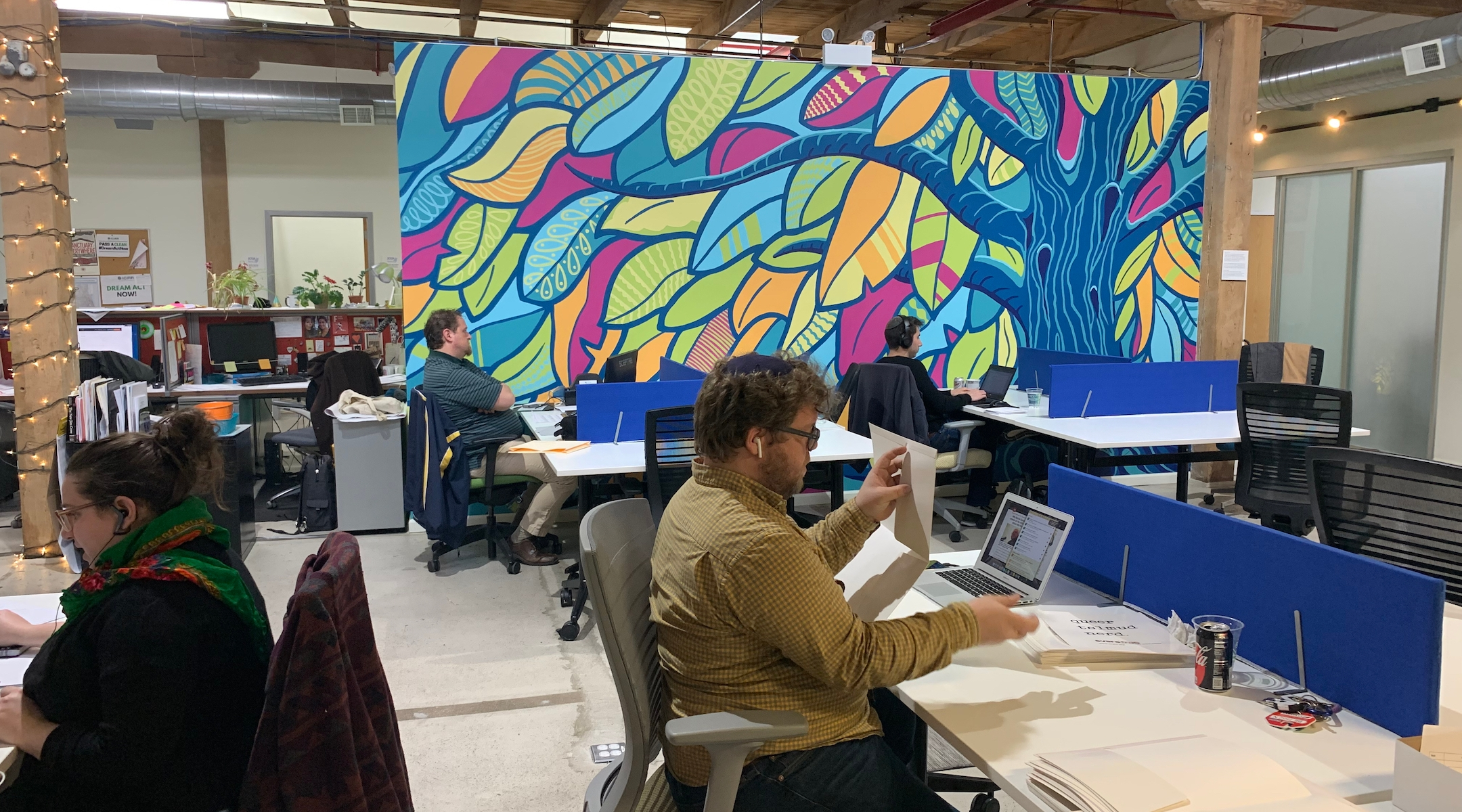 This co-working space is a Jewish take on WeWork