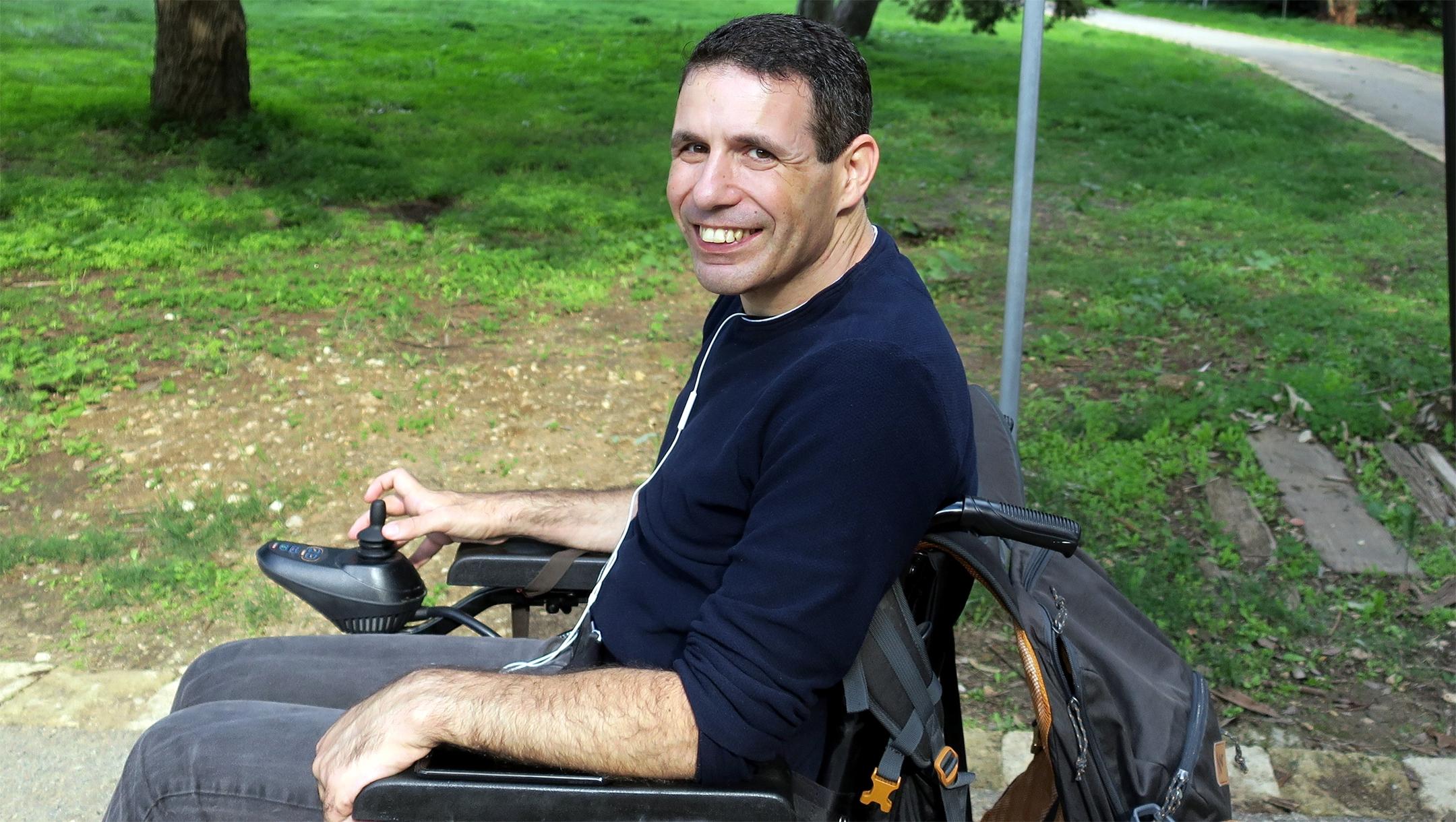 Dan Dori in Israel in 2018. (Courtesy of the Dori family)