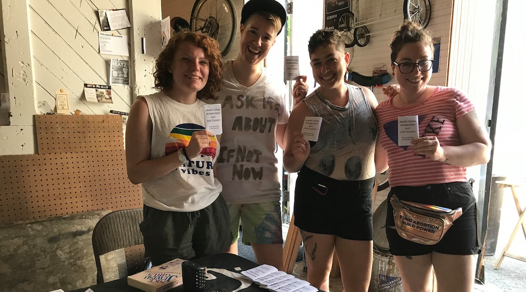 IfNotNow Dyke March