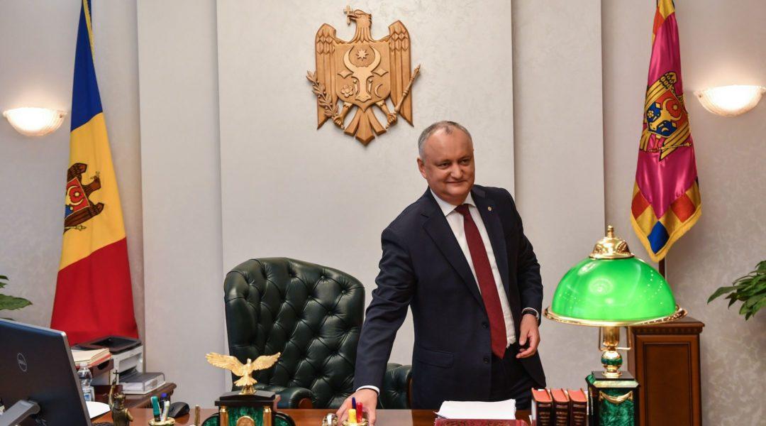 Moldova president