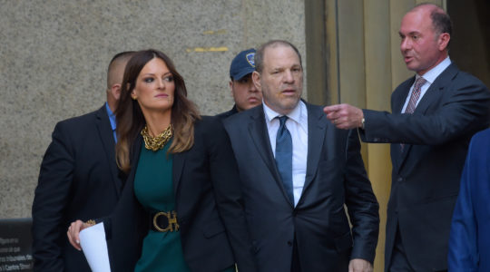 Harvey Weinstein and Donna Rotunno come out of a New York City court on July 11, 2019 (Raymond Hall/GC Images)