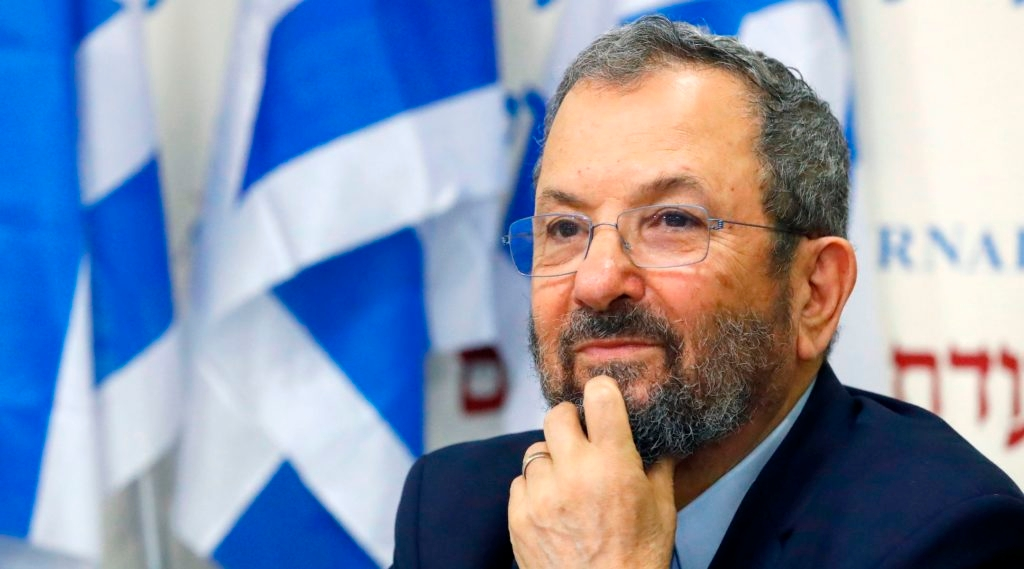 Ehud Barak wants to unseat Netanyahu — but first he has to get the Jeffrey Epstein monkey off his back