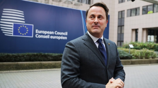 Luxembourg Prime Minister Xavier Bettel arrives ahead of a European Council Meeting on October 19, 2017 in Brussels, Belgium.(Dan Kitwood/Getty Images)