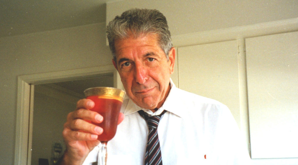 Leonard Cohen invented this delicious-sounding cocktail