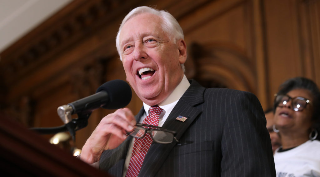 Steny Hoyer Has A Tough Job Uniting Democrats On Israel
