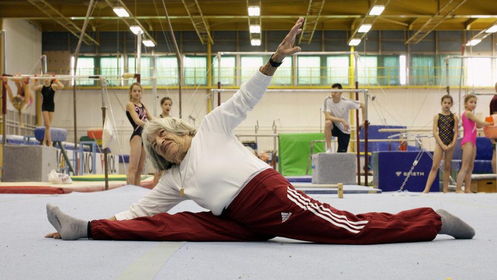 Agnes Keleti, world's oldest living Olympic champion, marks 99th birthday