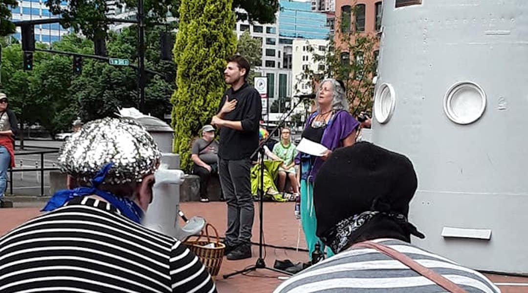 Trump takes a side in Portland's far-right rally. Some local Jews say it's the wrong side.