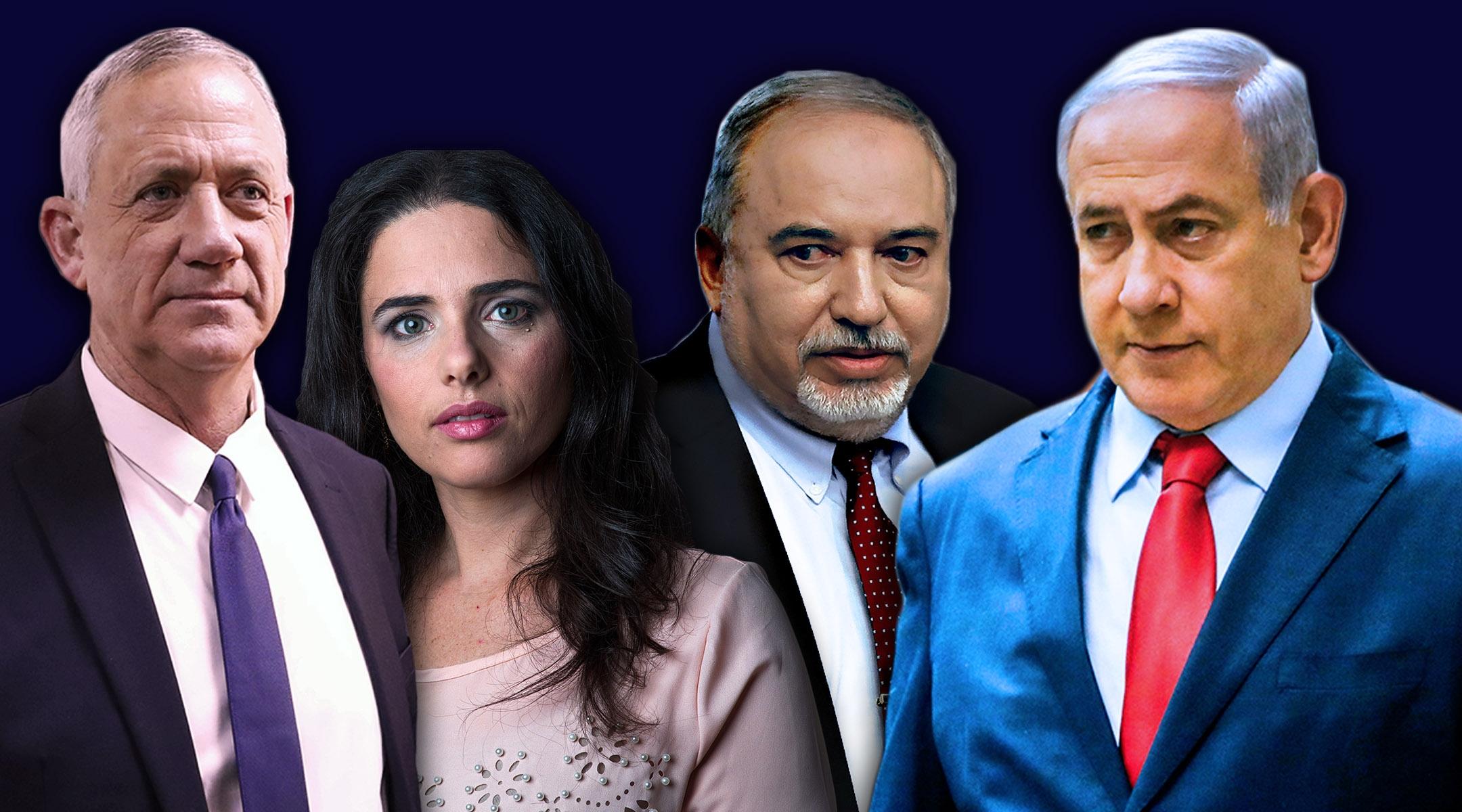 Israeli elections sept 19 montage