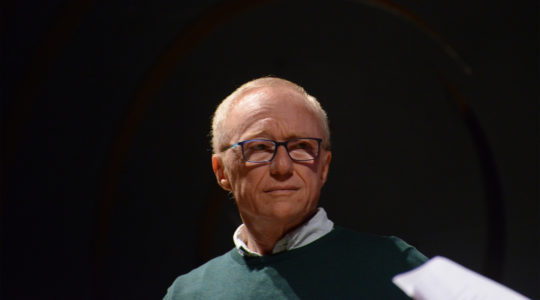 David Grossman at a speaking event at Porto Alegre, Brazil on Oct. 30, 2016 (Fronteiras do Pensamento/Luiz Munhoz/Wikemedia Commons)