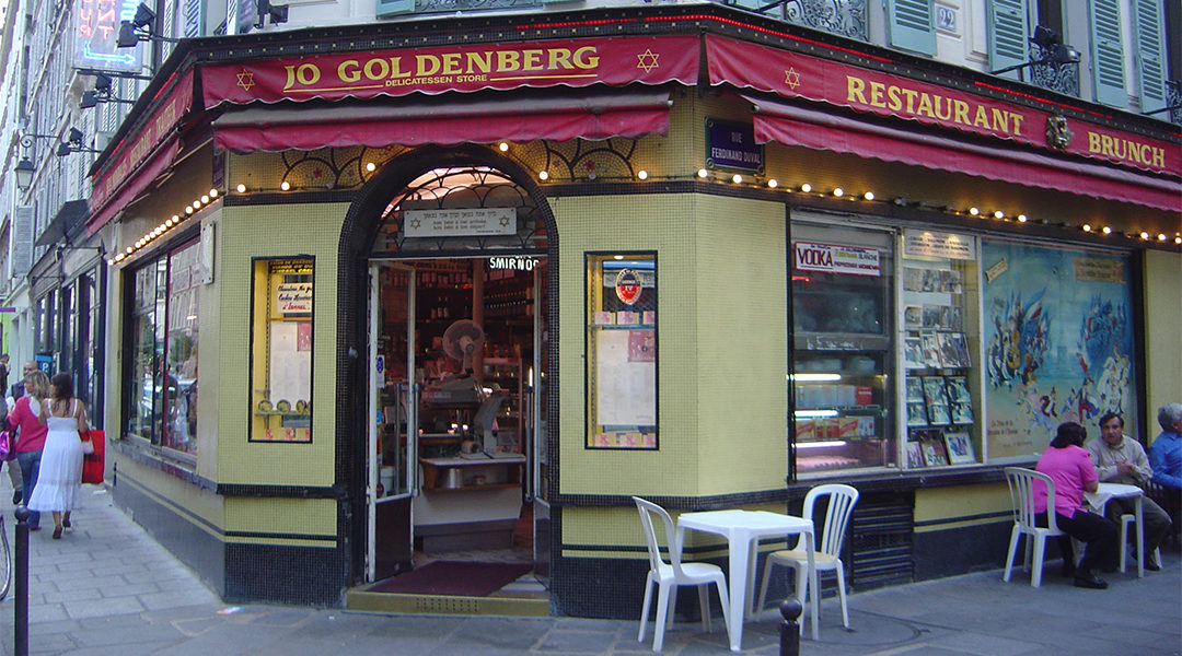 The Jo Goldenberg Restaurant in Paris, France on June 12, 2005. (David Monniaux/Wikimedia Commons)