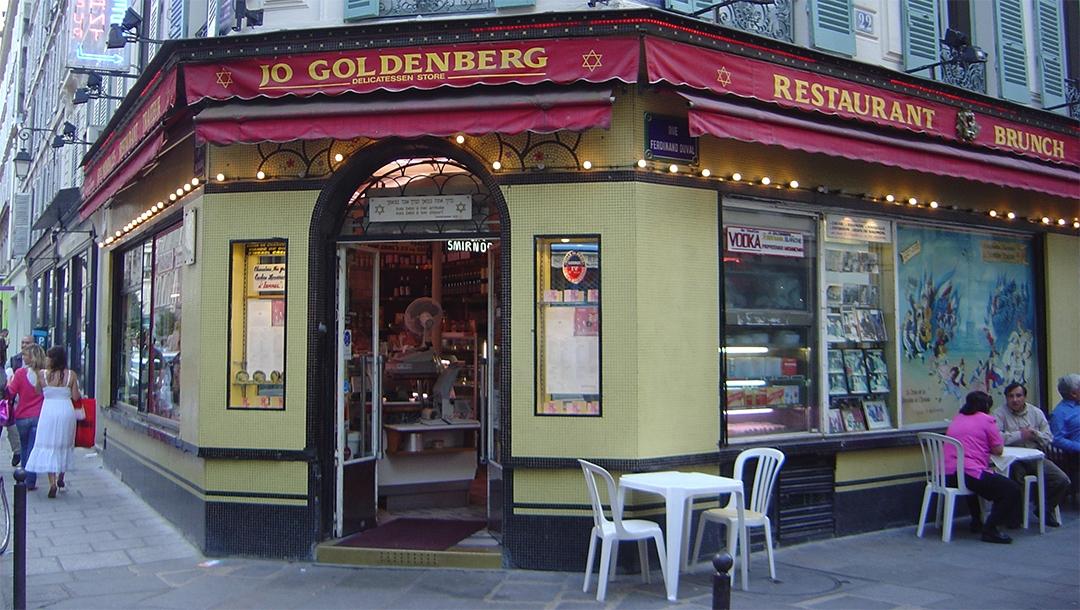The Jo Goldenberg Restaurant in Paris, France on June 12, 2005. (David Monniaux/Wikimedia Commons)