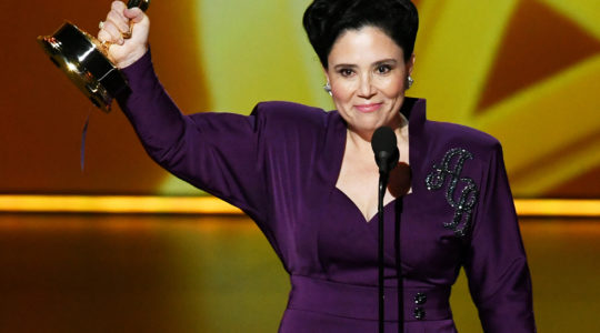 Alex Borstein accepts the Outstanding Supporting Actress in a Comedy Series award for 'The Marvelous Mrs. Maisel' onstage during the 71st Emmy Awards on September 22, 2019 in Los Angeles, California. (Photo by Kevin Winter/Getty Images)