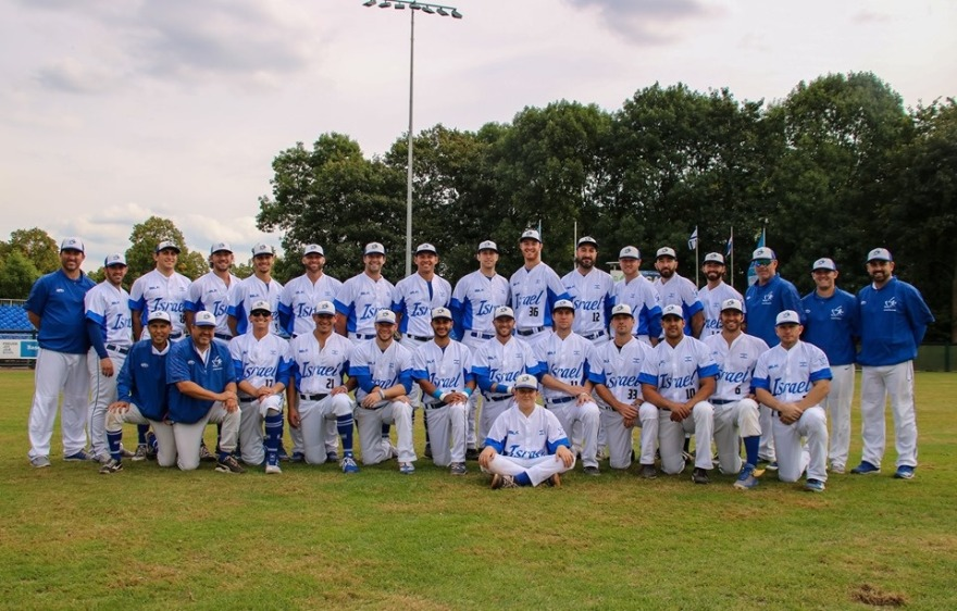 huge selection of 4b8f4 d05d6 Israel's national baseball team advances to Europe-Africa ...