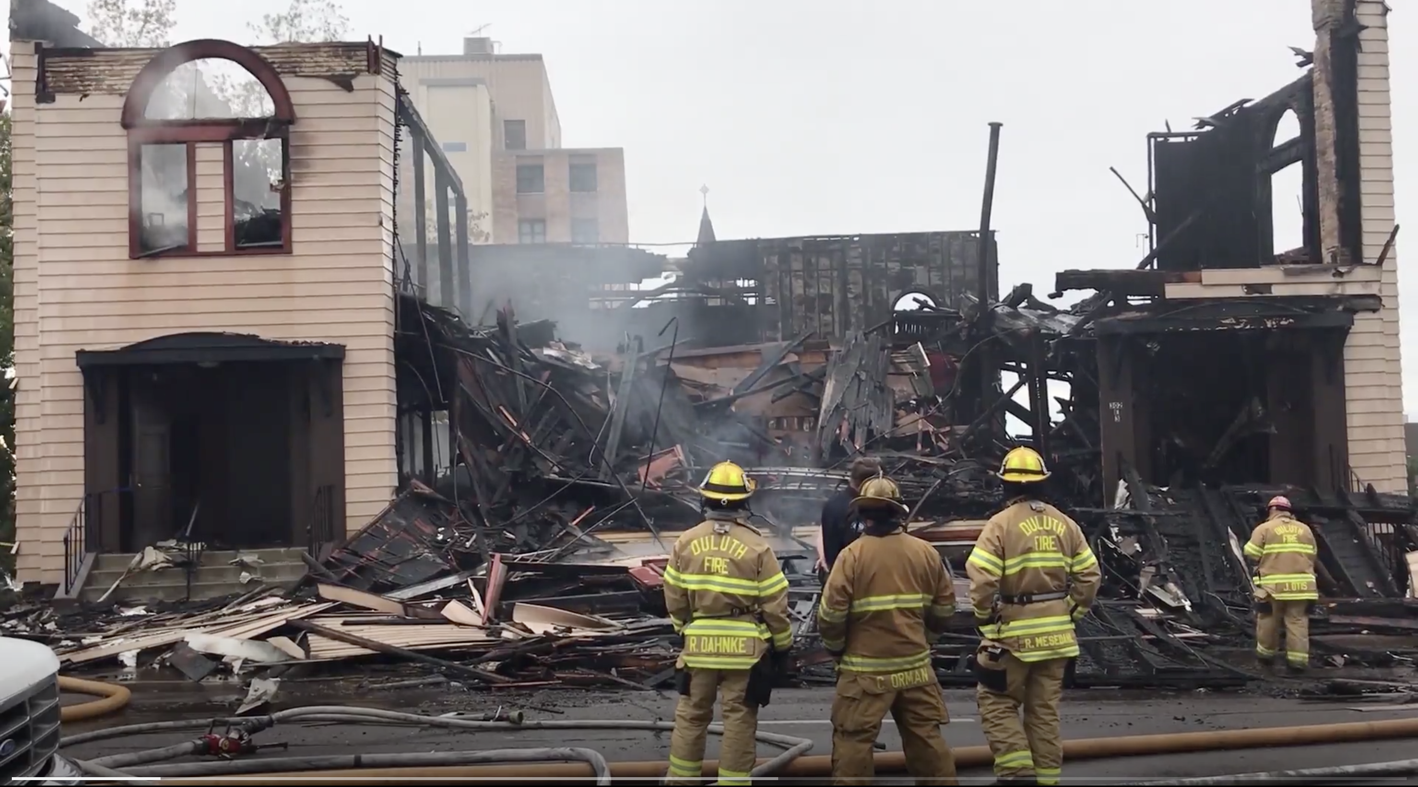 My family synagogue burned down in Minnesota this week. We lost much more than a building. - Jewish Telegraphic Agency