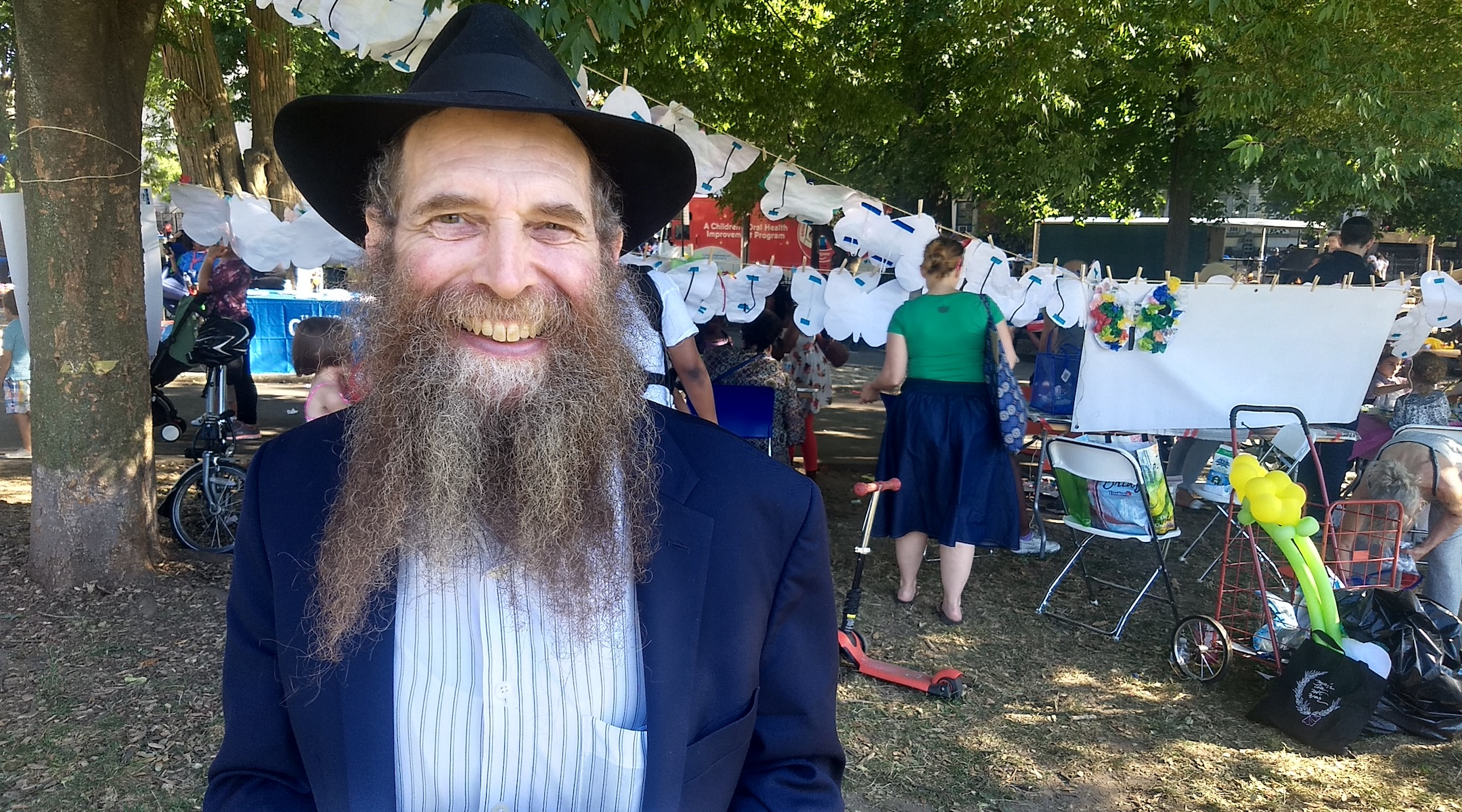 Eli Cohen, executive director of the Crown Heights Jewish Community Center, said relations have improved in the neighborhood since the 1991 riots. (Ben Sales)