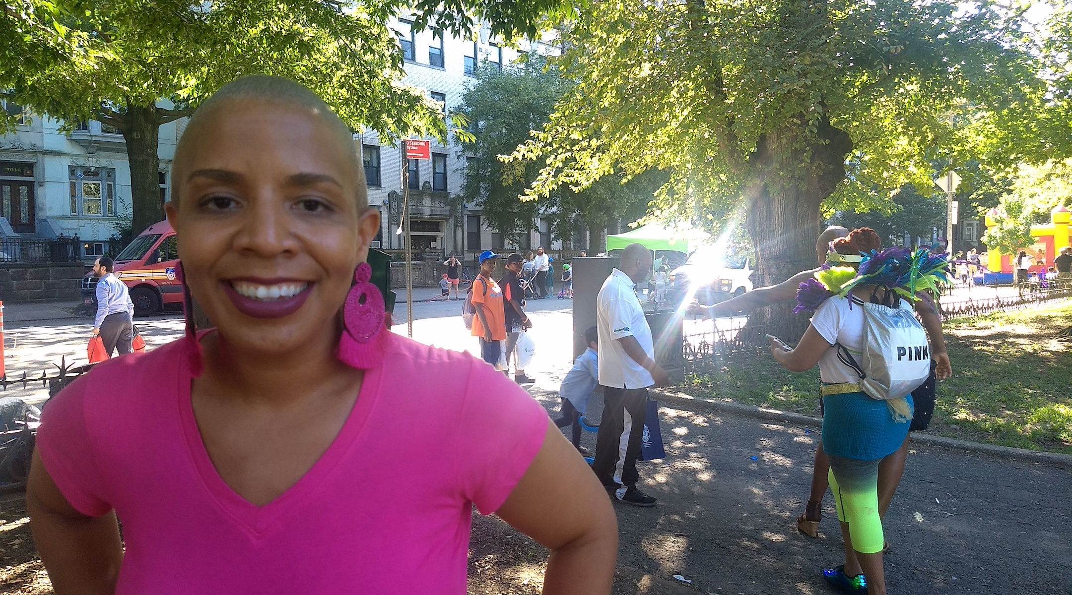 Laurie Cumbo, the New York City Council majority leader who represents Crown Heights, said the festival could lead to more interaction between African-Americans and Jews. (Ben Sales)