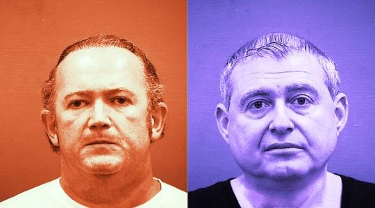 Igor Fruman and Lev Parnas (Getty Images / JTA Montage)