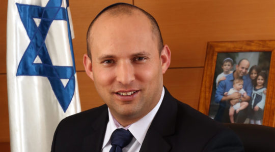 Israeli Defense Minister Naftali Bennett ( The Spokesperson of The Ministry of Economy)