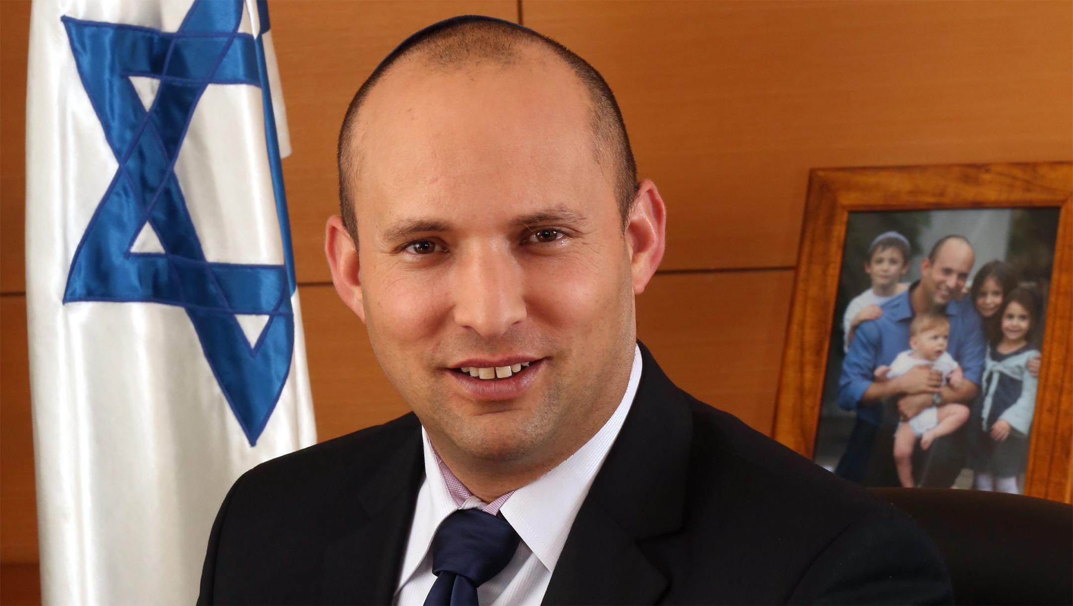 Israeli Defense Minister Naftali Bennett ( The Spokesperson of The Ministry of Economy)