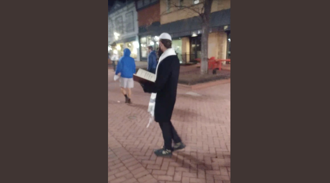 Funny: Men dressed as Jews hand out Holocaust denial fliers at Boulder mall Screen-Shot-2019-11-04-at-4.18.12-PM