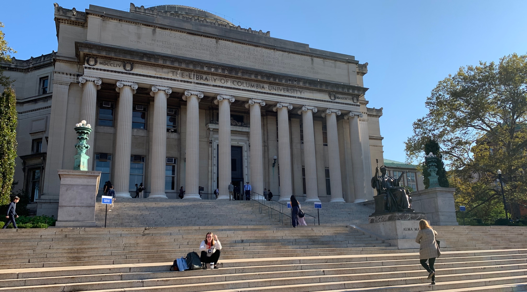 Columbia University accused of anti-Semitic discrimination in first case related to Trump executive order