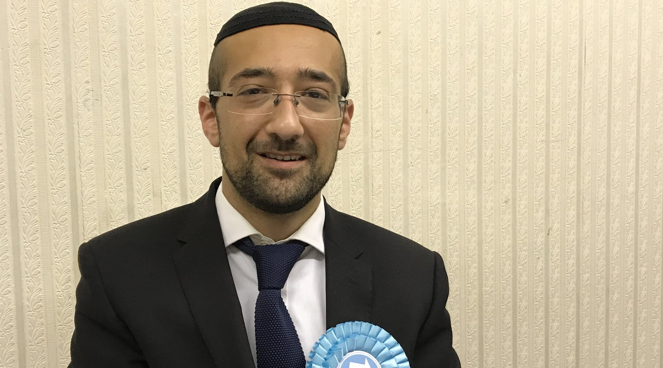 Brexit Party's Islington North candidate Yosef David. (Courtesy)