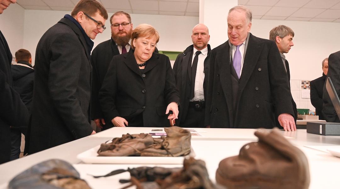 Angela Merkel announces Germany will donate $66 million to Auschwitz museum
