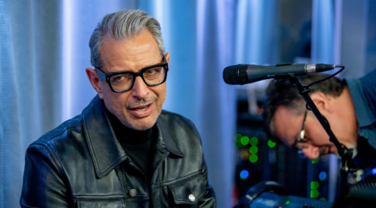 Jeff Goldblum at SiriusXM Studios in New York City, Nov. 11, 2019. (Roy Rochlin/Getty Images)