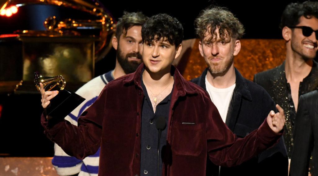 Vampire Weekend wins 2020 Grammy for best alternative album