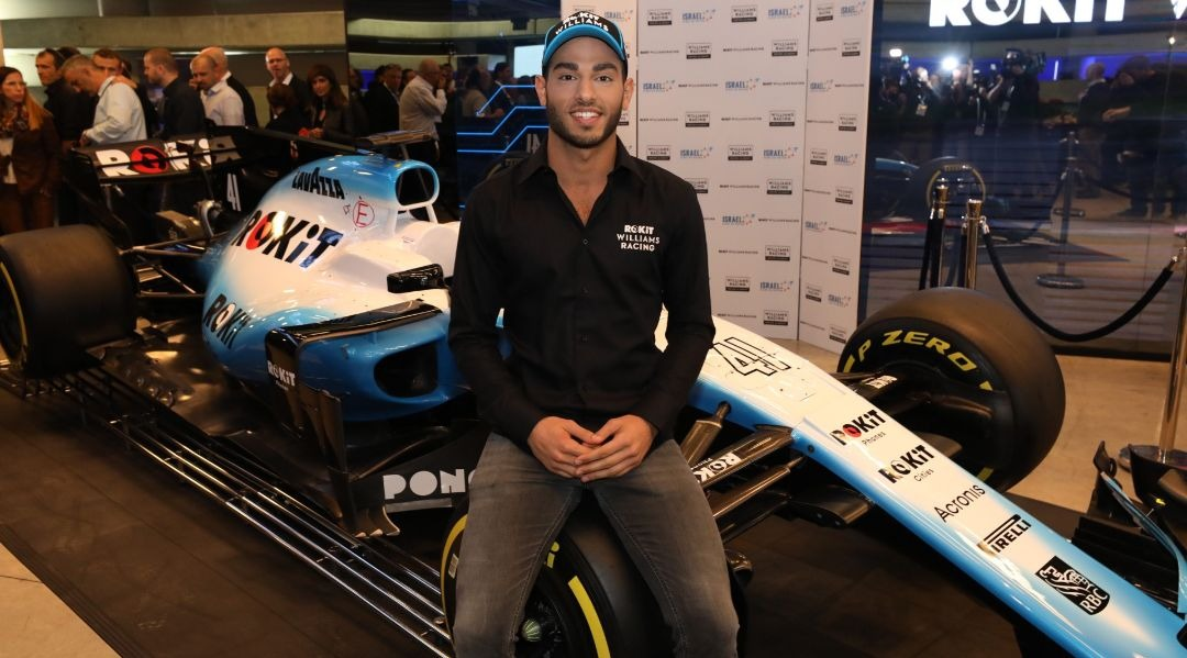 Israel gets its first Formula One race car driver