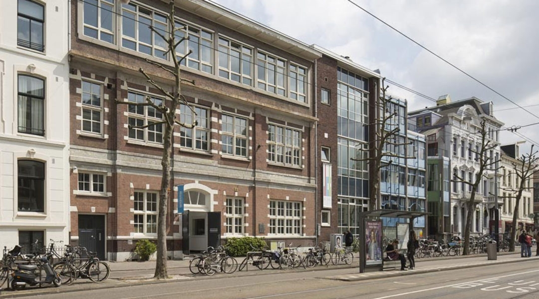 The Amsterdam building that used to house the Reform Seminary and children's detainment facility where Betty Goudsmit-Oudkerk helped saved hundreds of Jewish children. (Luuk Kramer/Courtesy of the Jewish Cultural Quarter of Amsterdam)