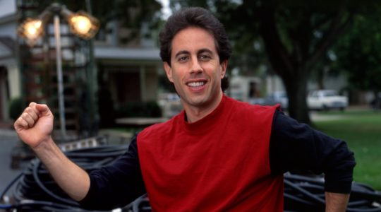 "Jerry Seinfeld during ""Seinfeld"" filming in Los Angeles, Oct. 2, 1990. (Ann Summa/Getty Images)"