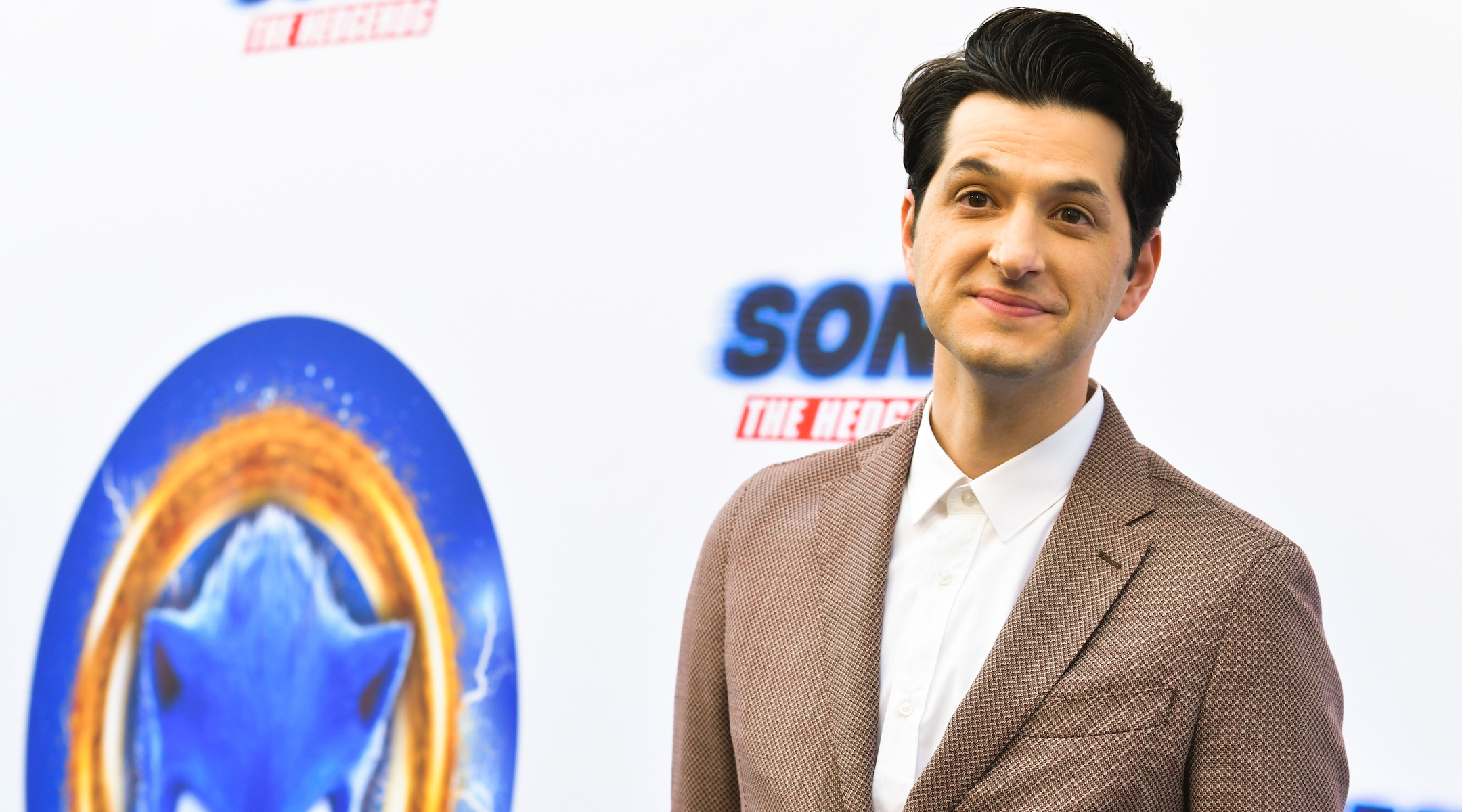"""Ben Schwartz at a """"Sonic: The Hedgehog"""" event in Hollywood, Calif., Jan. 25, 2020. (Rodin Eckenroth/Getty Images)"""